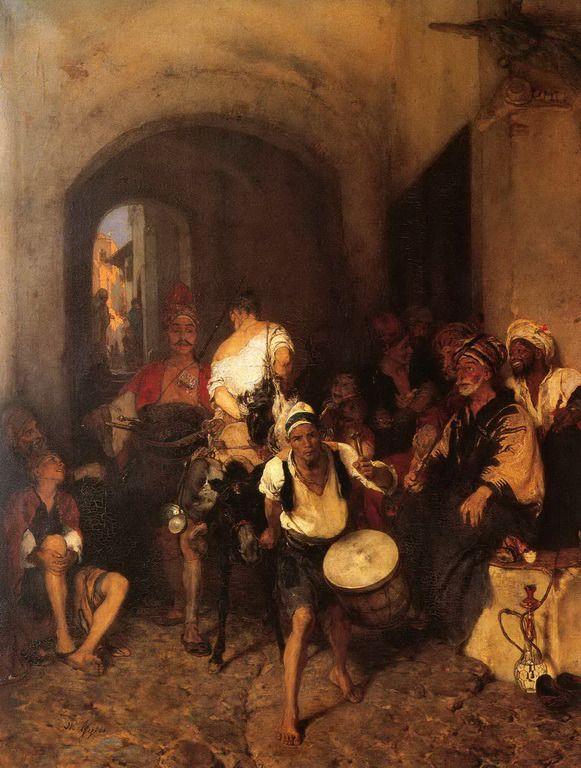 .:. Γύζης Νικόλαος – Gyzis Nikolaos [1842-1901] Η τιμωρία του ορνιθοκλέφτη