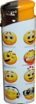 RZOnlinehandel - Nass Elektronik Feuerzeug Smiley