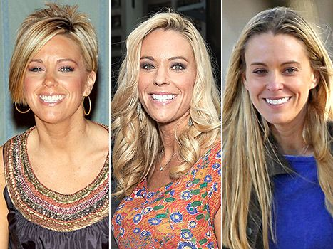 Kate Gosselin's long hair makeover! Tell Us which of her hairstyles you like best.