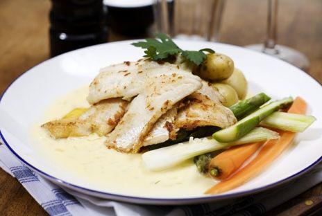 Stekt abborre med beurre blanc | Recept.nu