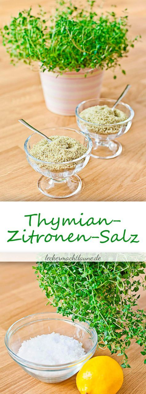 Thymian-Zitronen-Salz {grundrezept}