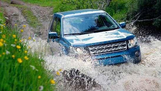 Cooles Auto. Land Rover Freelander