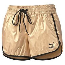 Puma Women's Gold Shorts
