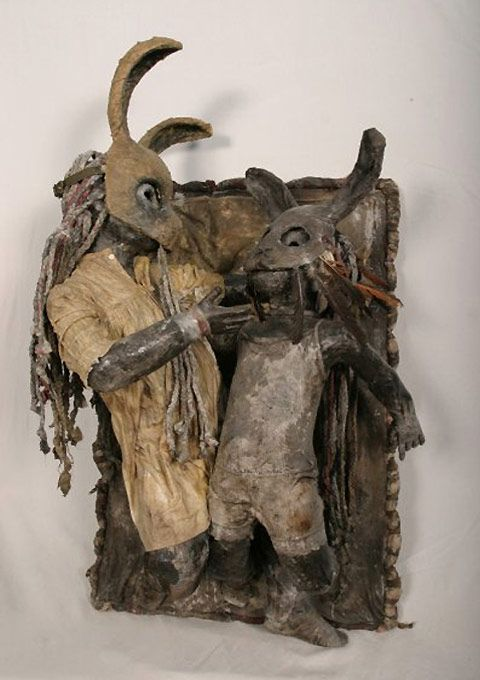 Paul Toupet is a designer from Paris with a bit of a morbid taste. He likes to sculpture wax puppets that look they've just been hopping out of the crypt.