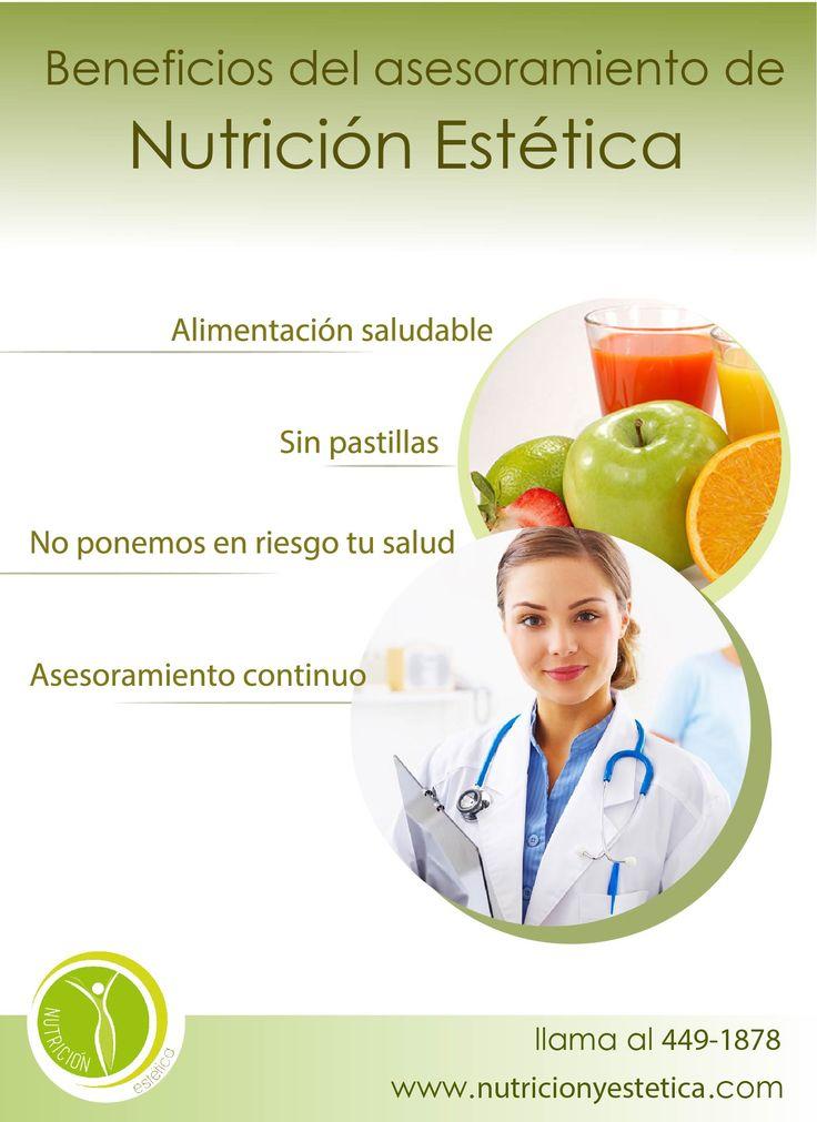 Beneficios del asesoramiento de Nutrición Estética