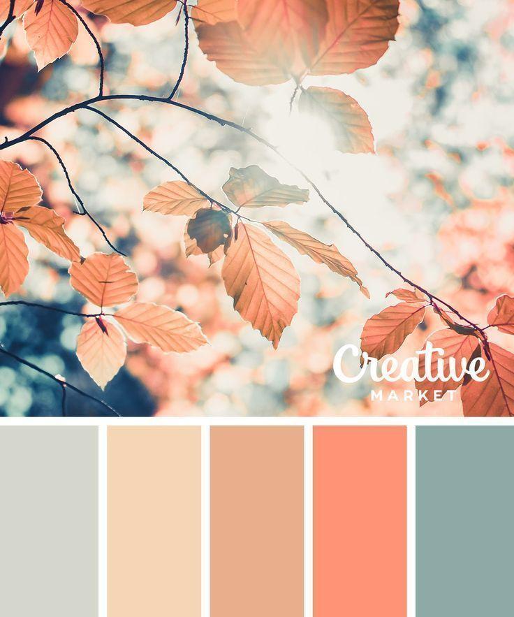 15 herunterladbare Farbpaletten für den Herbst ~ Creative Market Blog