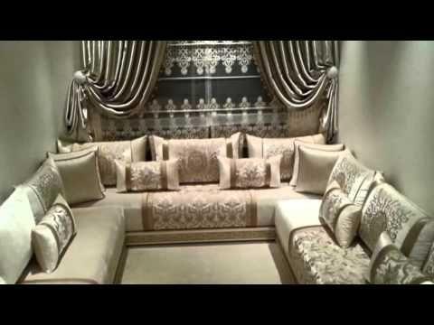 صالونات مغربية روعة 2016/2017 - YouTube | salon | Pinterest | Living ...