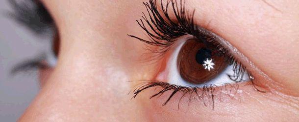 Aus roten Augen wieder ein schöner Blick