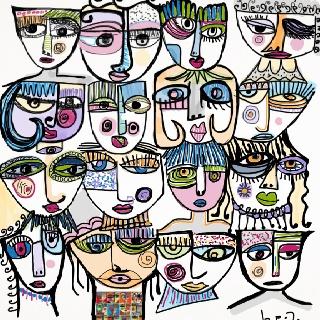 Describe tu pin...todos los rostros que te tuve...