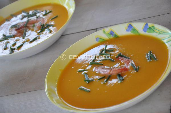 Reteta supa crema de cartof dulce cu limeta si ghimbir