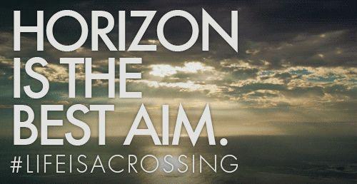 #Horizon is the best #aim #lifeisacrossing #NorthSails #sea