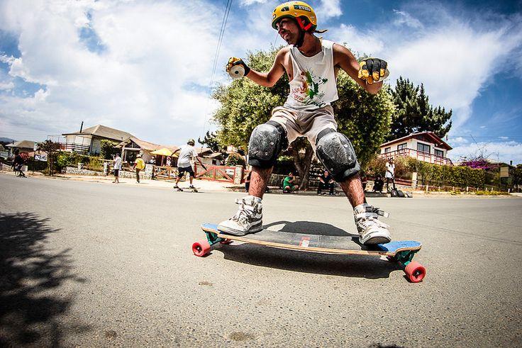 Campeonato Slide a fuego  #slide #skate #downhill