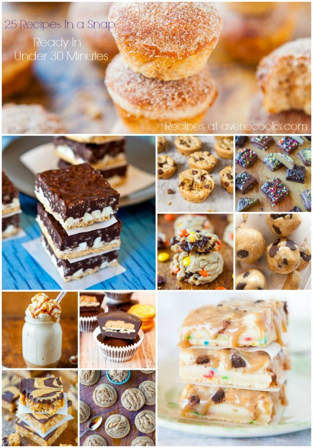 25 Fast and Easy Desserts