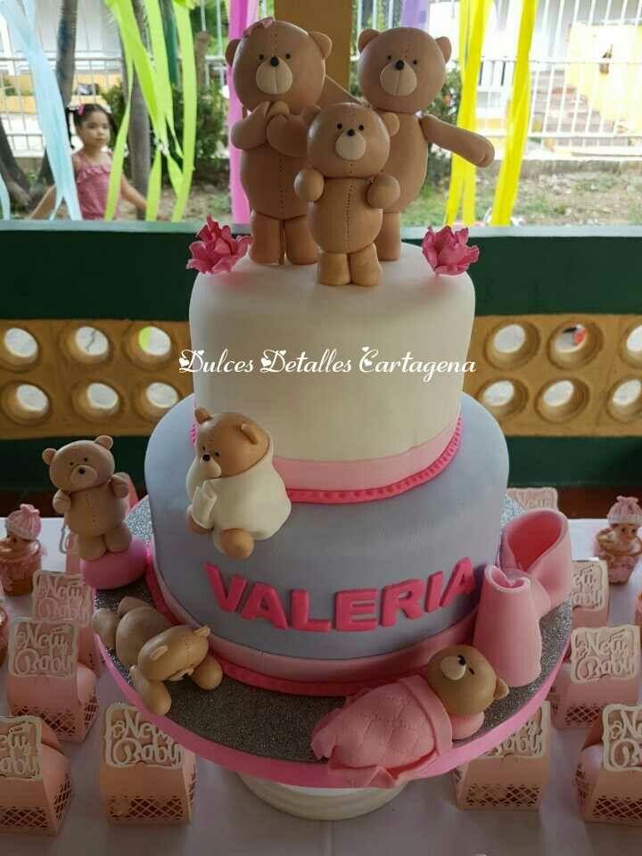 Torta Baby Shower Niña