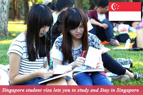 Singapore Student Visa let you to stay and Study in Singapore