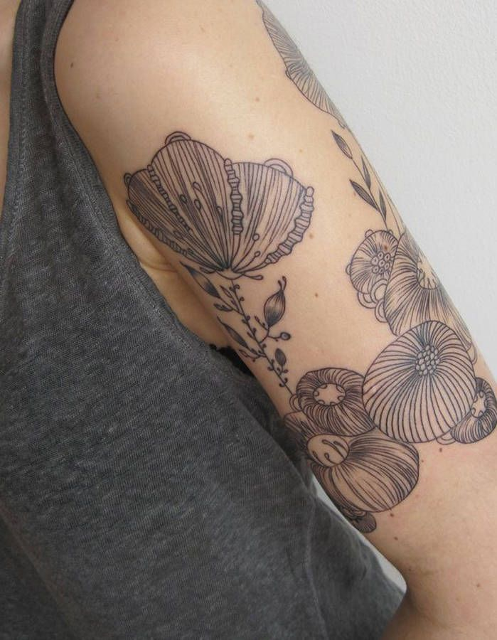 Epingle Par Alizee Capelier Design Sur Tatouages Tattoos Flower