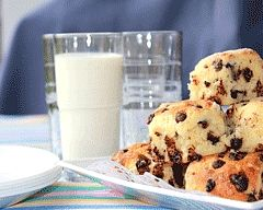 Chocolate Chip Scones Recipe - After school snacks