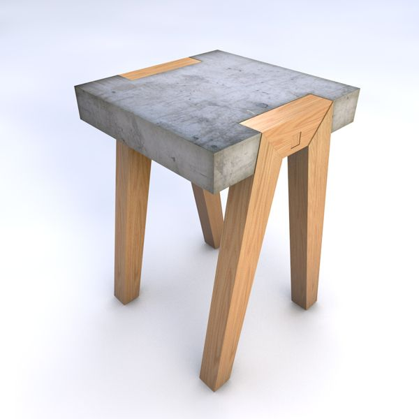 Project No.3/Side Table - by Hector Leon PRJ67