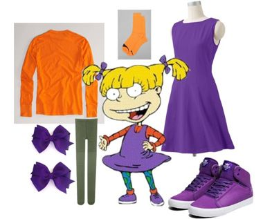 I seriously mourn for the days of old-school cartoons like NickToons. Yeah, I'm sure there are some good cartoons on TV right now, but nothing will ever compare to my old standbys like Rugrat...Dress like Nicktoons character