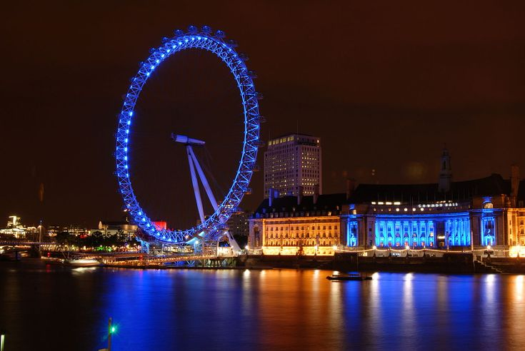 London Eye Night Shot - London Eye - Wikipedia, the free encyclopedia