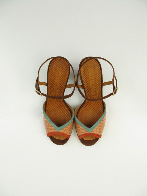 Gorgeous.  Tomaia Sandals by Chie Mihara