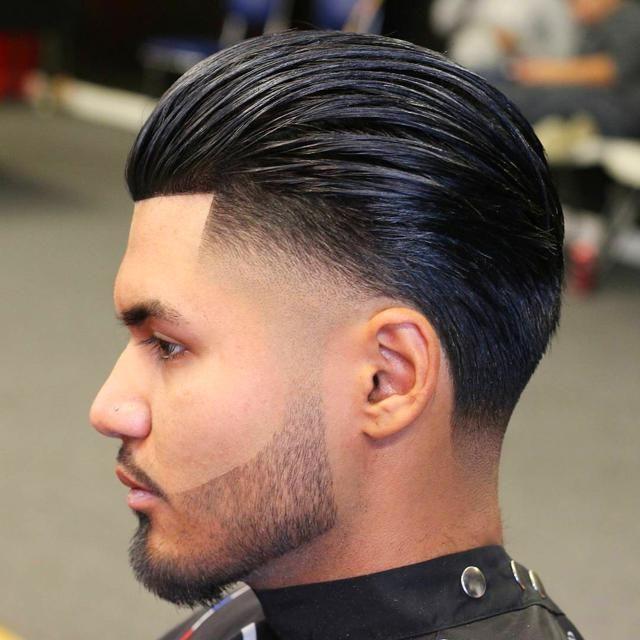 Men S Hair Styles Menshairstyles Slick Back Haircut Slicked Back Hair Hair And Beard Styles
