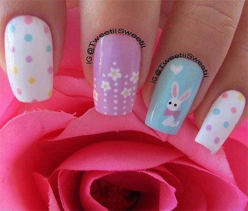 Diseños de Uñas de Gel para Pascua 8