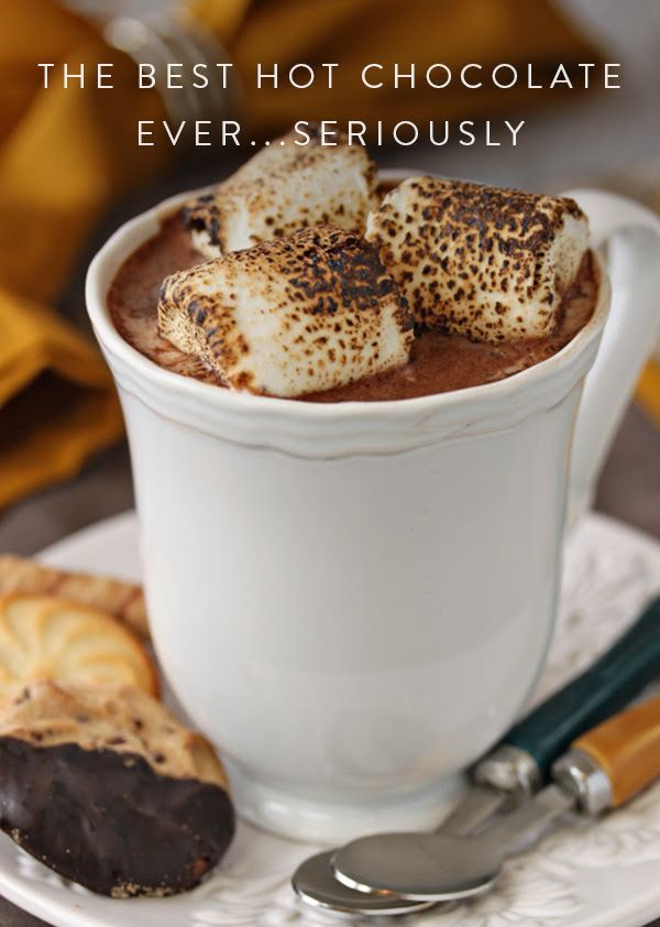 The Secret Ingredient That Will Take Hot Chocolate to the Next Level. It's just like drinking a candy bar because once you add a scoop of it, it'll melt you.