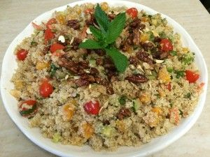 Delicious and very Versatile Quinoa salad