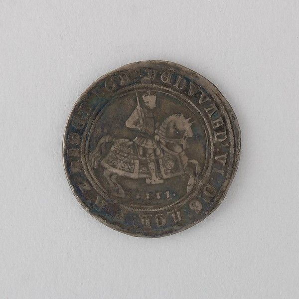 Coin Showing Crown of Edward VI. Date: 1551 British ...