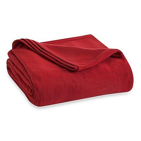 $29.99 RED FULL Vellux Fleece Blanket