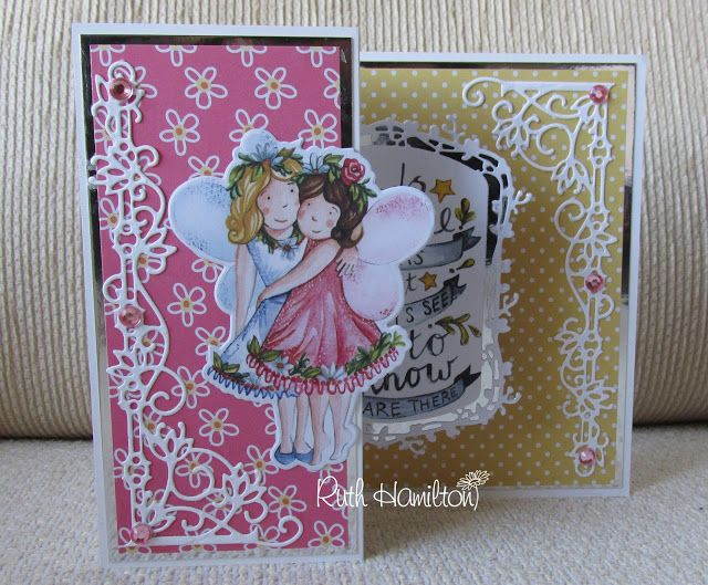 Blog Tonic: Tonic Tutorial - How to Make a 3D Pop up Card with the Reflections Dies and Paper Pad - Ruth
