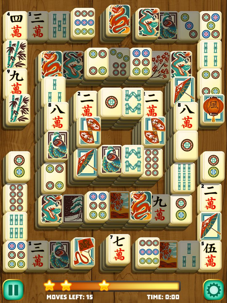 Mahjong Path Solitaire A classic take on Mahjong https