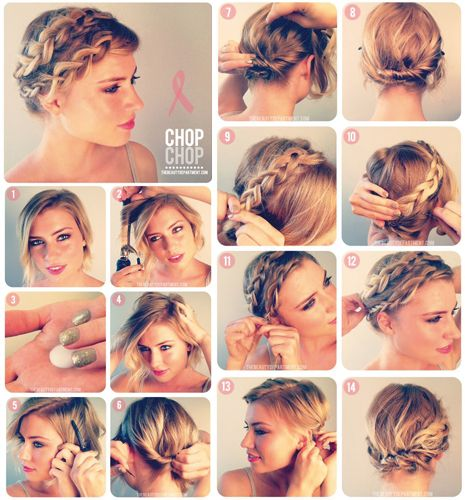 Tresse cheveux courts - the beauty departement