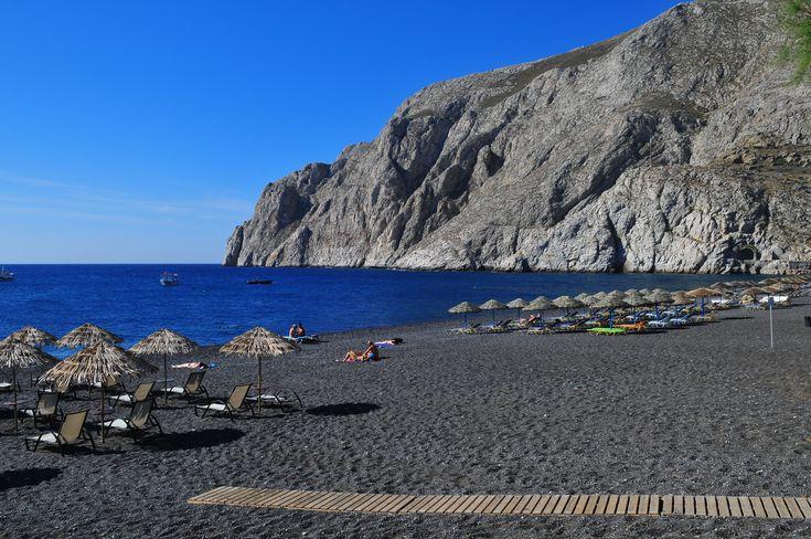 نتيجة بحث الصور عن santorini beaches