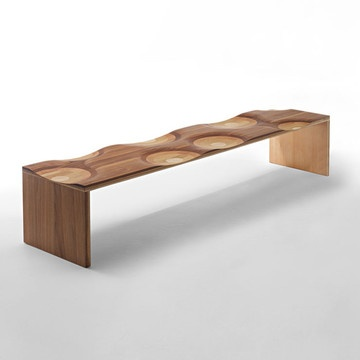 Ripples Bench now featured on Fab.
