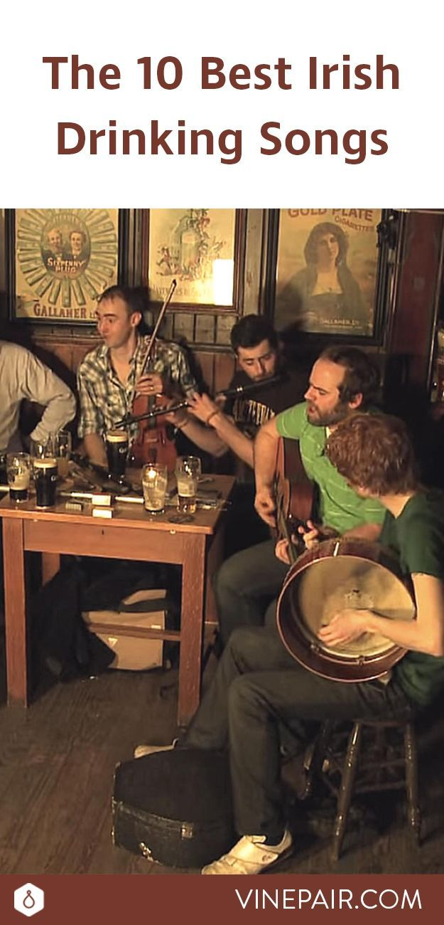 Few drinking cultures are as storied as Irish drinking culture. But to get the full experience, you need to have a solid Irish drinking songs playlist.