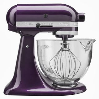 I Love My Kitchen Aid Plum Berry Mixer!!!