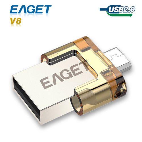 * EAGET OTG 32GB Dual USB Flash Drive * $18.99