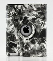 Tenmile offer LiViTech(TM) Painting Art Design Series 360 Degree Rotating Smart Cover for Apple iPad 2/3/4 (Black White). This awesome product currently limited units, you can buy it now for  $12.99, You save - New