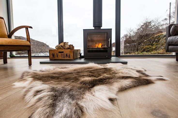The Net Store House with a #Rais #Stove  #fire #living #architecture
