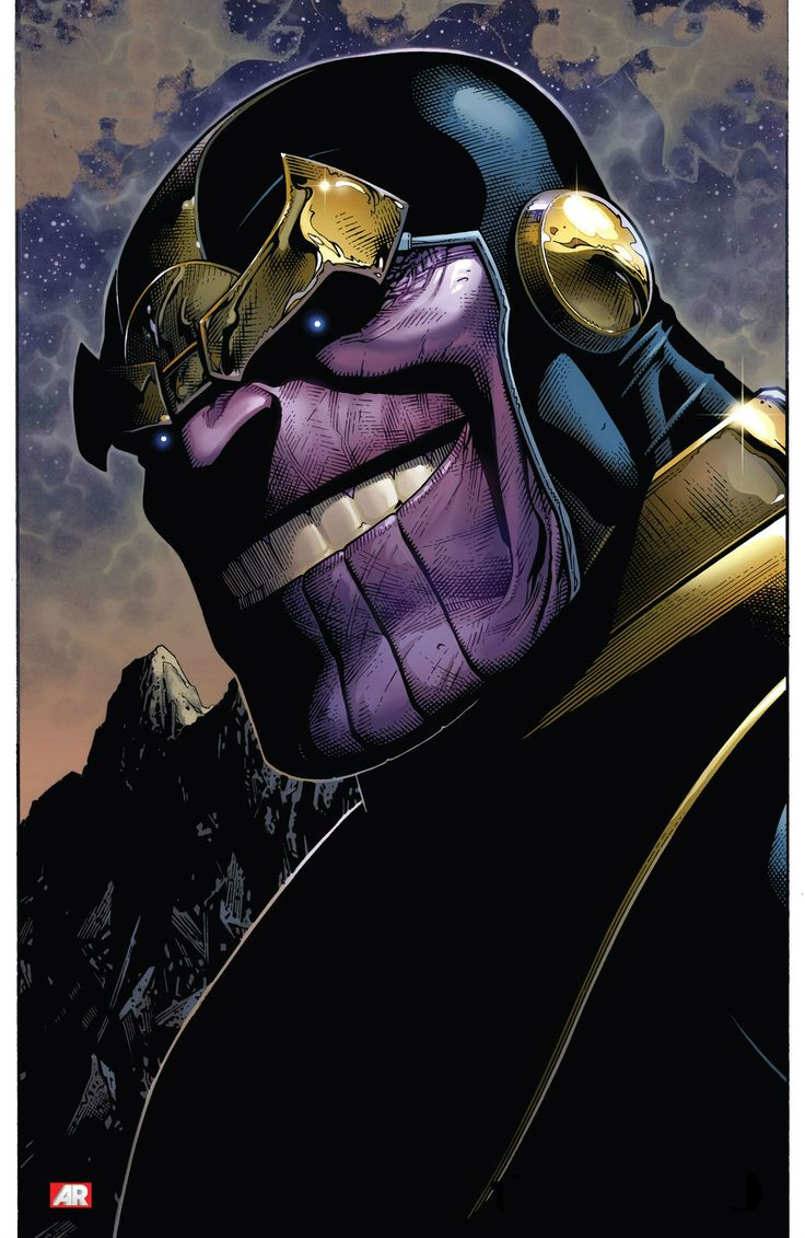 Thanos by Jim Cheung