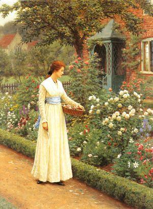 Summer Roses  John Hayter