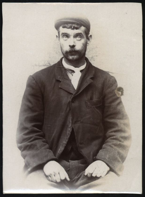 "https://flic.kr/p/ytBUhn | Thomas Melia, arrested for mugging a Norwegian seaman | Name: Thomas Melia Arrested for: not given Arrested at: North Shields Police Station Arrested on: 15 December 1905 Tyne and Wear Archives ref: DX1388-1-81-Thomas Melia  The Shields Daily News for 18 December 1905 reports:   ""THEFT FROM THE PERSON AT NORTH SHIELDS.   At North Shields Police Court today, Thomas Melia (29), Causey Bank and John Casey (44), Clive Street, were charged with being concerned together…"