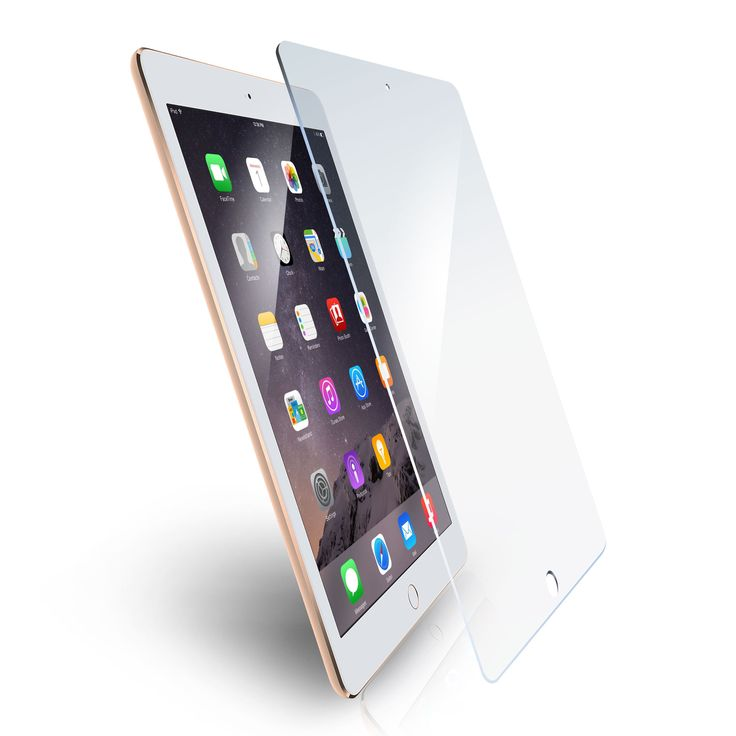 rooCASE Tempered Glass Screen Protector for Apple iPad Air and iPad Air 2 #RCAPLAIR2TG018