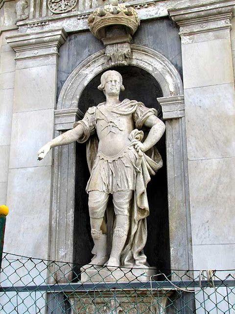 Pietro Leopoldo, Grand Duke of Tuscany, by Andrea Pelliccia, church of San Jacopo in Acquaviva