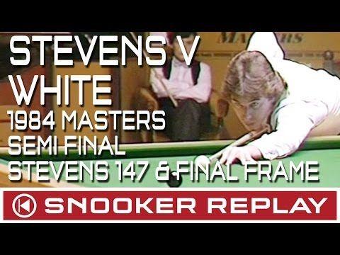 Jimmy White v Kirk Stevens 1984 Masters Semi-final (Stevens 147 and final frame) - YouTube