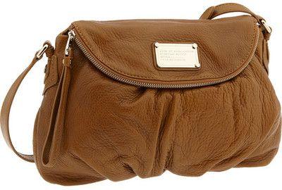 MARC BY MARC JACOBS 'Classic Q - Natasha' Crossbody Flap Bag in Caramel w/ silver hw