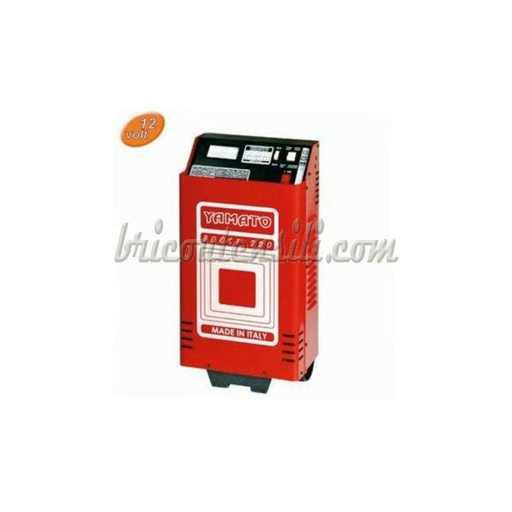 Caricabatterie boost 220 12v carrellabile dotato di due ruote in pvc, ottimo per il lavoro professionale, con possibilità oltre che di caricabatteria di avviamento auto.Ideale per batterie da 110/120 ah