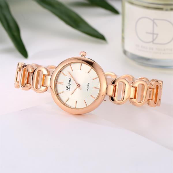LVPAI P125 Fashion Women Quartz Wristwatch Luxury Ladies Dress Bracelet Elegant Party Watch